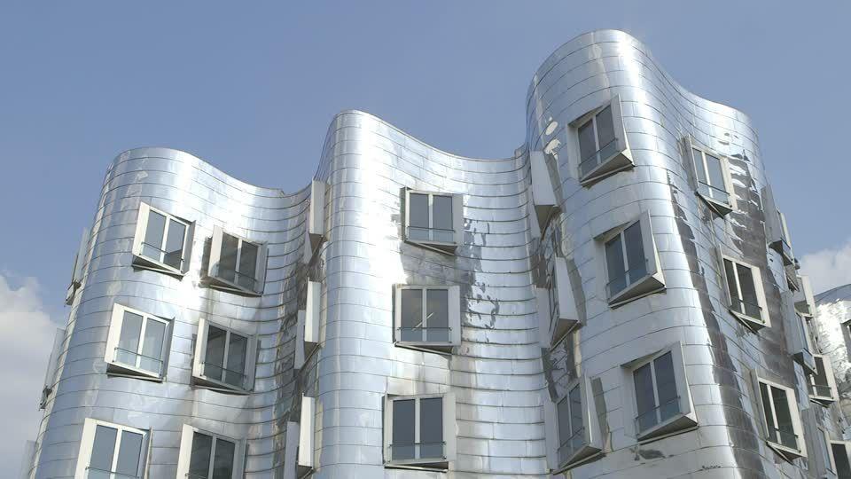 Облицовка здания нержавеющей сталью